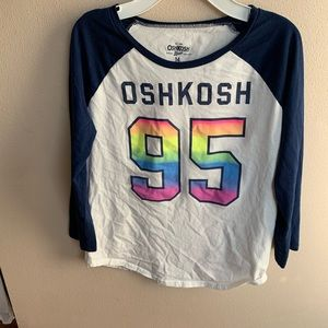 Oshkosh girls baseball T-shirt